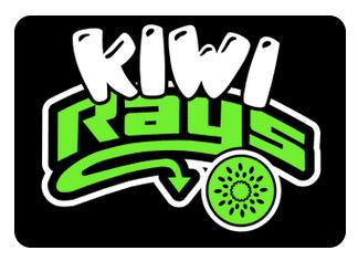 Kiwi Team Hair Bows