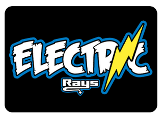 Electric Team Hair Bow
