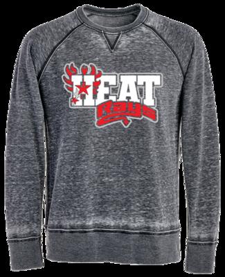 JA Vintage Crew Sweatshirt (Heat)