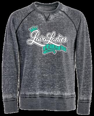 JA Vintage Crew Sweatshirt (Lava Ladies)