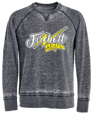 JA Vintage Crew Sweatshirt (Firebolt)