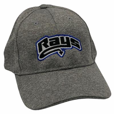 Rays Gray Heather Snapback Hat