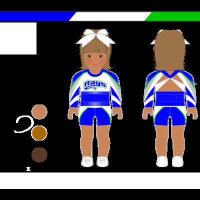 American Girl Doll Uniform (CV)