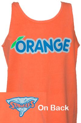 Orange Rays Tank