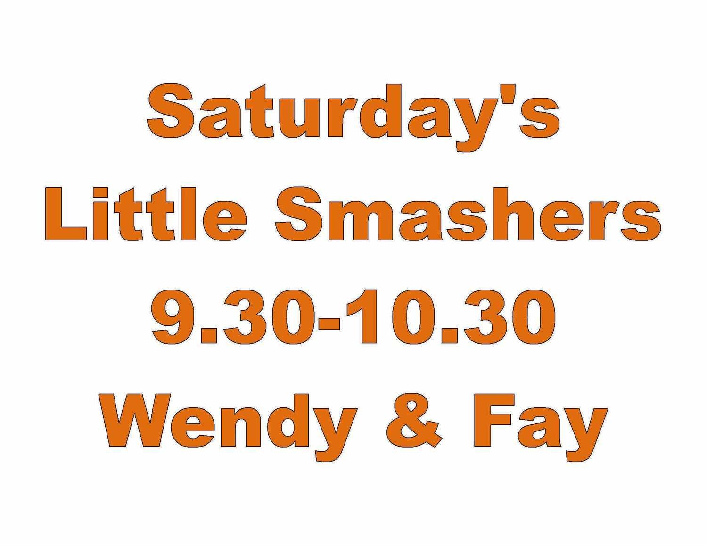 Saturday Little Smashers Junior Squash Sessions
