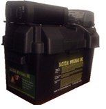 Battery Bank with 800W AC Inverter & Wall Charger