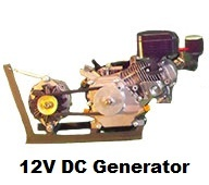 12 Volt DC Generator for Woodgas, Propane, and Natural Gas