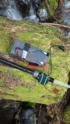 Tactical Hydro lightweight hydro power system (12V and USB 5V at 10W)