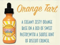 Orange Tart ZHC Mix Series Dinner Lady 50ml