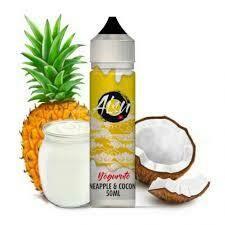 Pineapple & Coconut AISU YOGURUT BY ZAP! JUICE