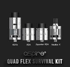 Kit Quad-Flex Survival Aspire