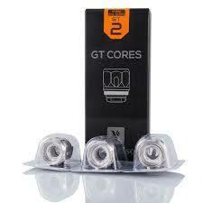 3 coil GT2: 0.40 ohm NRG Vaporesso