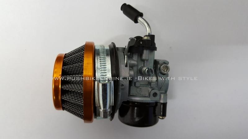 Runtong SHA  carburetor with lever choke