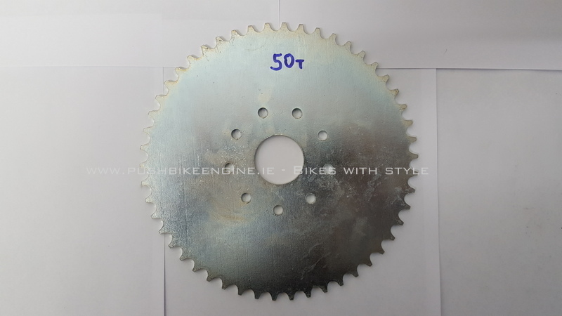 Wheel Sprocket 50T 50 Tooth 415 Rear Bicycle Engine Conversion 48cc 60cc 80cc