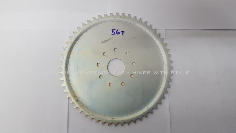 Wheel Sprocket 56T 56 Tooth 415 Rear Bicycle Engine Conversion 48cc 60cc 80cc