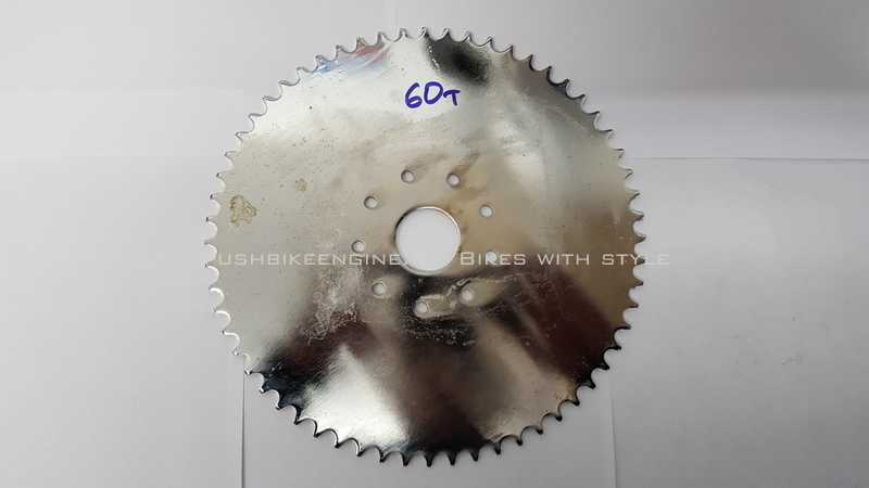 Wheel Sprocket 60T 60 Tooth 415 Rear Bicycle Engine Conversion 48cc 60cc 80cc