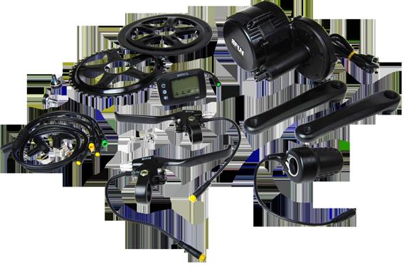 Bafang Mid Drive Electric kit