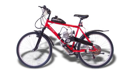 "Push Bike Engine "" Red Dragon"""