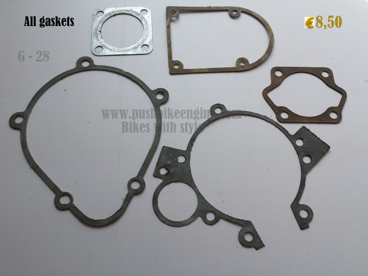 Push Bike gaskets all set