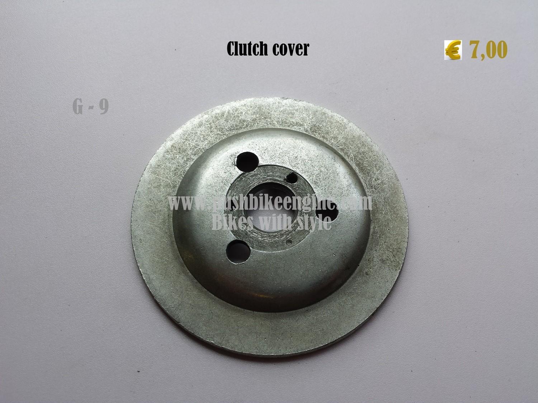 Clutch cover disc