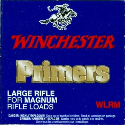 Winchester Large Rifle Magnum primers / 1000