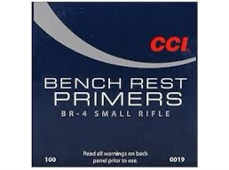 CCI Small Rifle Bench Rest Primers #BR4 - 1000