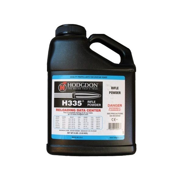 HODGDON H335 RIFLE BALL POWDER - 8LB