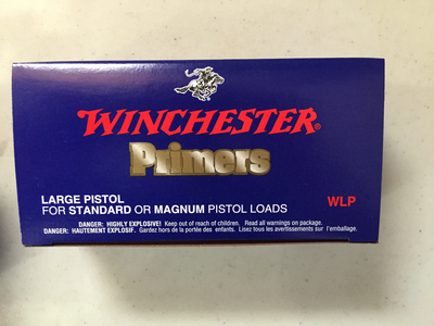 Winchester Large Pistol primers / 1000