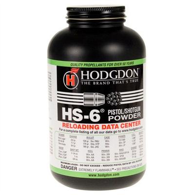HODGDON HS-6 PISTOL/SHOTGUN POWDER - 1LB