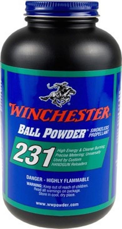WINCHESTER 231PISTOL POWDER 1LB