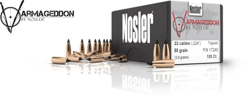 22 Caliber 55 Grain Varmageddon Bullet - 100 / BOX