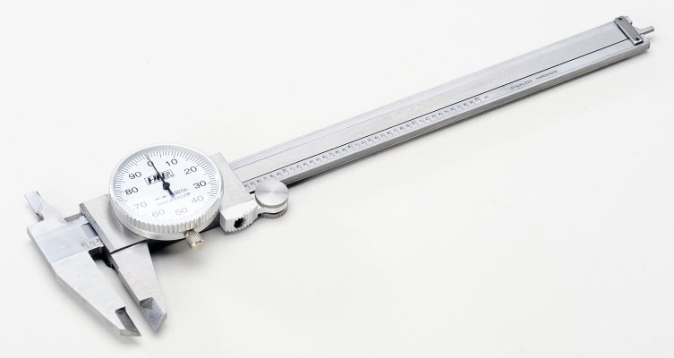 STAINLESS STEEL DIAL CALIPERS