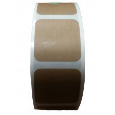 Tan target pasters - Roll of 1000