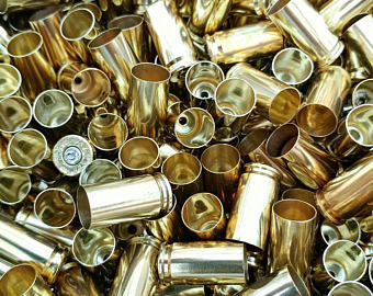 ONCE FIRED 9MM RANGE BRASS - 1000