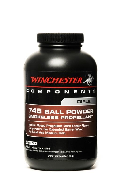 WINCHESTER 748 RIFLE BALL BALL POWDER - 1LB