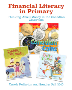 Financial Literacy In Primary