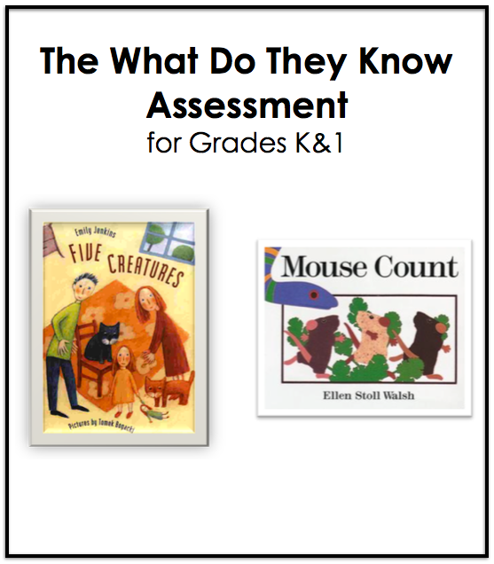 What Do They Know Assessment for K&1