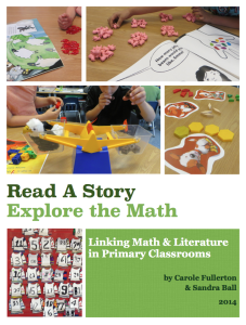 Read a Story; Explore the Math