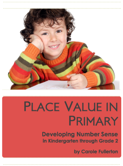 Place Value in Primary: Developing Number Sense in K-2