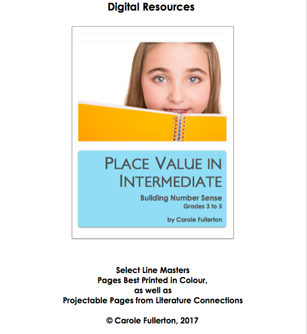 Place Value In Intermediate Line Masters Package
