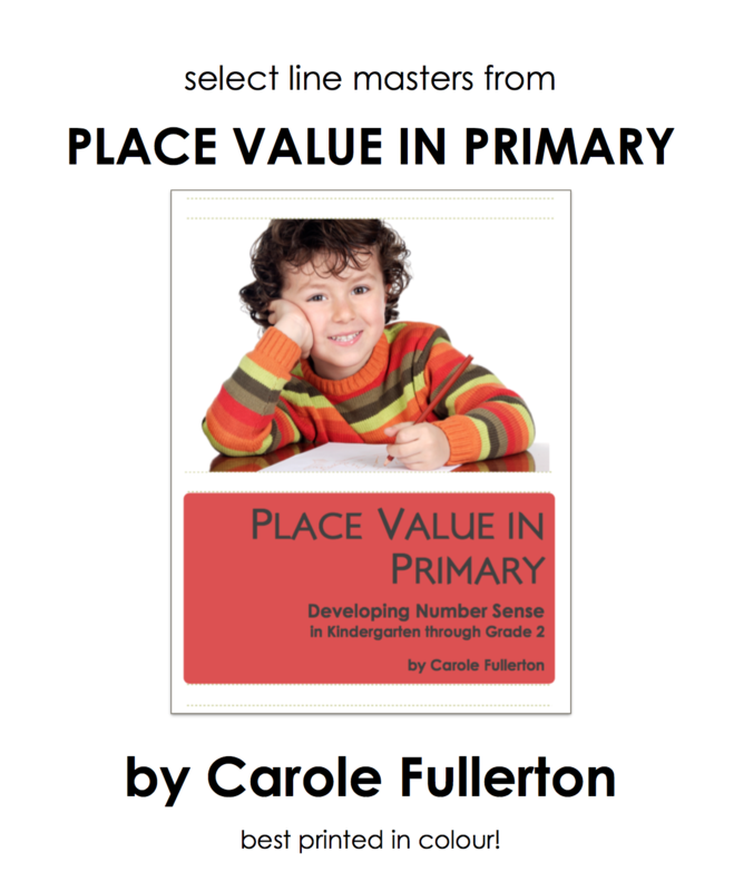 Place Value In Primary Line Masters Package