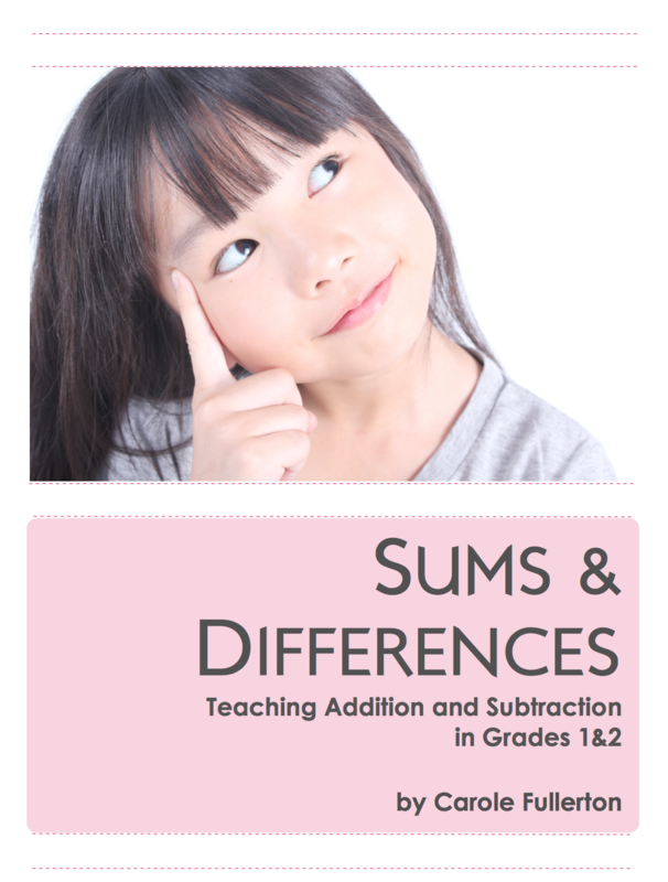 Sums and Differences for Grades 1&2
