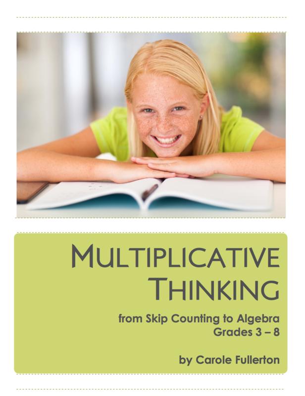 Multiplicative Thinking for Grades 3-8