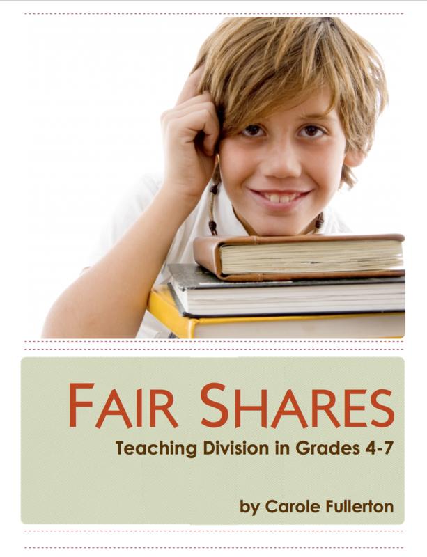 Fair Shares: Teaching Division in Grades 4-7