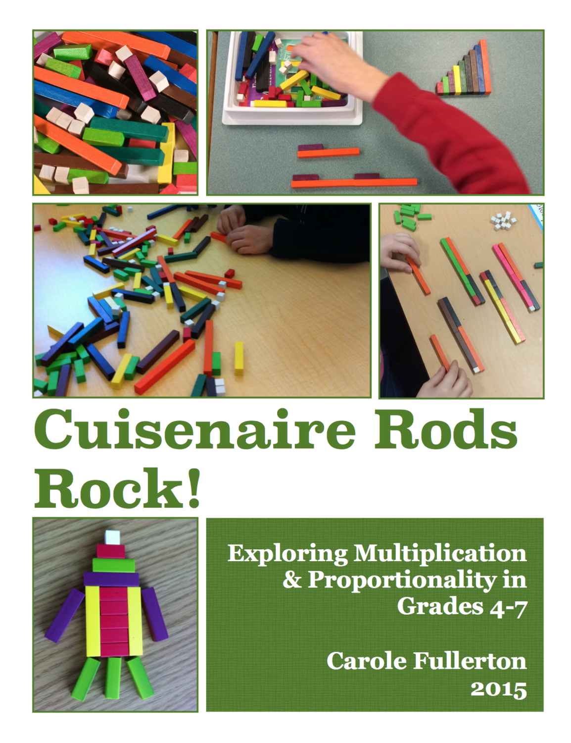 Cuisenaire Rods Rock for Grades 4-7