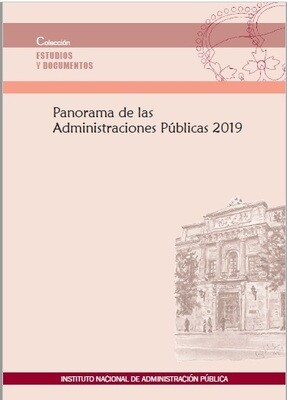 Panorama de las Administraciones Públicas 2019