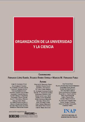 Organización de la Universidad y la Ciencia: Actas XIII Congreso AEPDA
