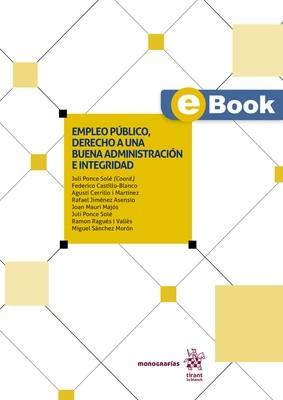 Empleo público, derecho a una buena administración e integridad - EBOOK