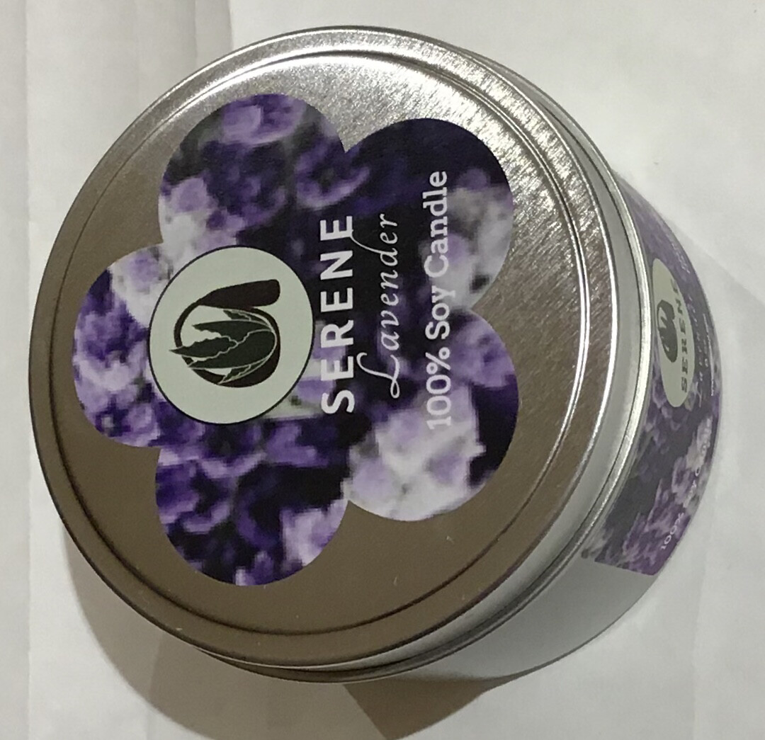 Serene Soy Candle 8 oz