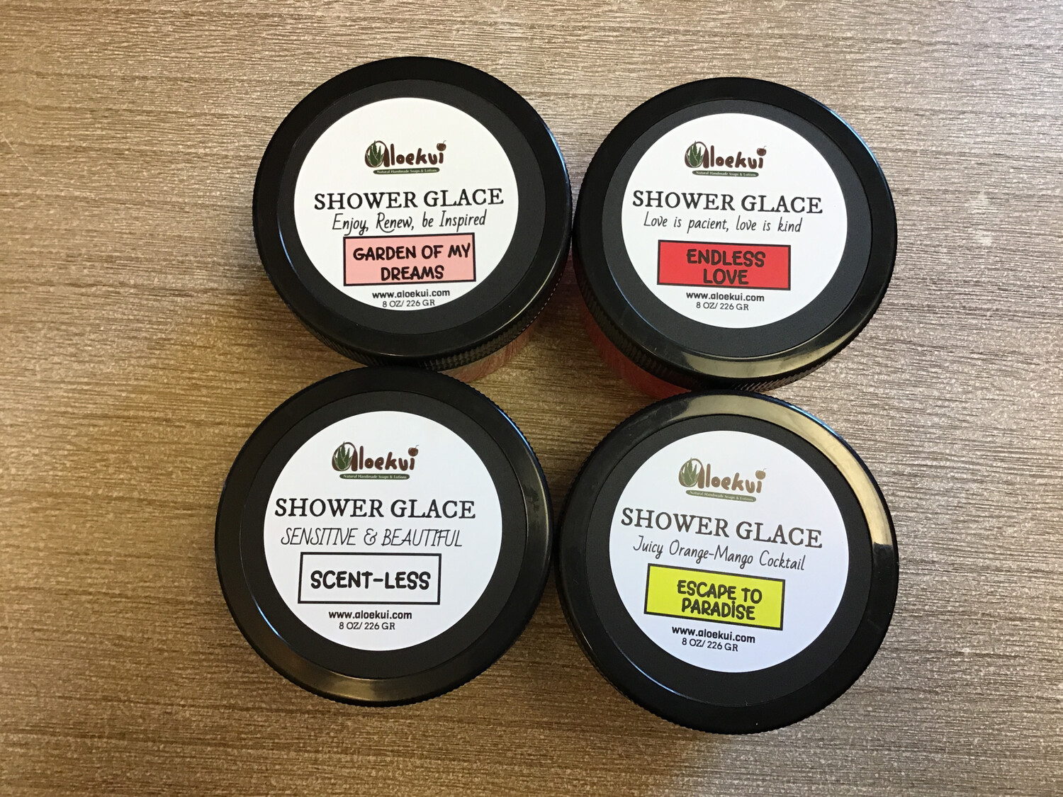 SHOWER GLACE- Combo-Pack of 4